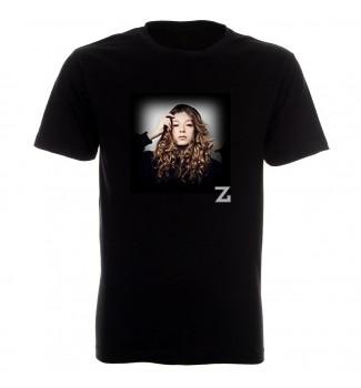Koszulka  czarna   Zuza Jabłońska